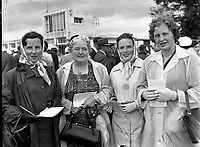 Ladies Day at Killarney Races in the 1950's.<br /> Picture: macmonagle archive<br /> e: info@macmonagle.com