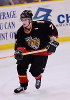 13 March 2004:  Bill Downey (7). Johnstown Chiefs defeated the Wheeling Nailers 6-2 in ECHL action at the Cambria County War Memorial Arena in Johnstown, PA.