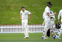 Otago's Nathan Smith on Day One of the Plunket Shield cricket match between Wellington Firebirds and Otago Volts at the Basin Reserve in Wellington, New Zealand on Wednesday, 17 October 2018. Photo: Dave Lintott / lintottphoto.co.nz