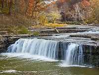 Cataract Falls State Recreation Area, Owen County, IN: LowerCataract Falls on Mill Creek