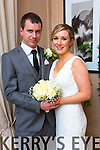 Marie Lynch, Brandon Tralee, daughter of John and Eileen Lynch, and Derek O'Connor, Maharees, son of Gerry and Maureen O'Connor, were married at St. Brendan's Church Cloghane by Fr. Eamon Mulvihill on Saturday 3rd January 2015 with a reception at Ballygarry house Hotel