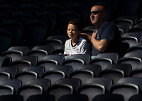 Tottenham Hotspur fans ahead of the Premier League match between Tottenham Hotspur and Crystal Palace at Wembley Stadium, London, England on 14 September 2019. Photo by Vince  Mignott / PRiME Media Images.