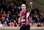 Stockholm 2014-12-03 Handboll Elitserien Hammarby IF - IFK Sk&ouml;vde :  <br /> Lugis Zoran Roganovic gestikulerar under matchen mellan Hammarby IF och IFK Sk&ouml;vde <br /> (Foto: Kenta J&ouml;nsson) Nyckelord:  Eriksdalshallen Hammarby HIF Bajen IFK Lugi portr&auml;tt portrait