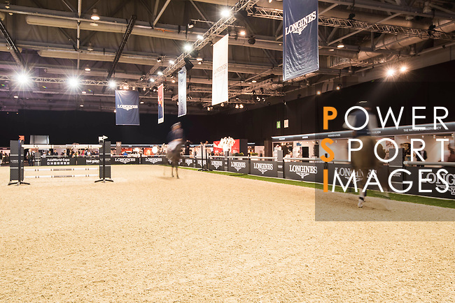 The Prestige Village of the Longines Masters of Hong Kong on 10 February 2017 at the Asia World Expo in Hong Kong, China. Photo by Weixiang Lim / Power Sport Images