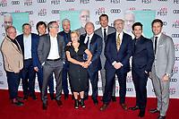 Anthony Hopkins und Jonathan Pryce mit Team beim Gala Screening des Kinofilms 'The Two Popes / Die zwei Päpste' auf dem AFI Fest 2019 im TCL Chinese Theatre. Los Angeles, 18.11.2019