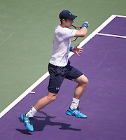 ANDY MURRAY (GBR)<br /> <br /> Tennis - MIAMI OPEN 2015 - ATP 1000 - WTA Premier -  Crandon park Tennis Centre  - Miami - United States of America - 2015<br /> &copy; AMN IMAGES