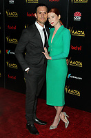 04 January 2019 - Los Angeles, California - Dominick Joseph Lunar, Emma Booth. 8th AACTA International Awards hosted by the Australian Academy held at SKYBAR at Mondrian Los Angeles.        <br /> CAP/ADM<br /> &copy;ADM/Capital Pictures