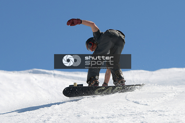NELSON, NEW ZEALAND September 15: Rainbow Ski Area's Cheapskates Slopestyle, Rainbow Ski, Nelson, New Zealand, September 15, 2018 (Photos by: Barry Whitnall/Shuttersport Ltd
