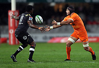 DURBAN, SOUTH AFRICA - JULY 14: Juan Manuel Leguizamon of the Jaguares during the Super Rugby match between Cell C Sharks and Jaguares at Jonsson Kings Park on July 14, 2018 in Durban, South Africa. Photo: Steve Haag / stevehaagsports.com