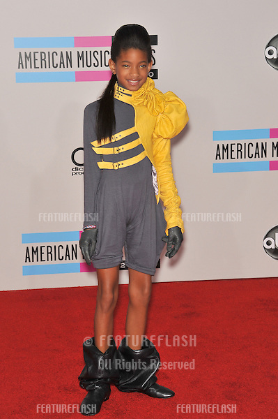 Willow Smith at the 2010 American Music Awards at the Nokia Theatre L.A. Live in downtown Los Angeles..November 21, 2010  Los Angeles, CA.Picture: Paul Smith / Featureflash