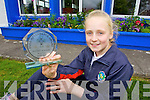 Rachel Bowler a student of Scoil Eoin, Tralee, who didn't miss a day of her eight years of primary school.