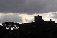 Santo Andre (SP), 18/02/2020 - Clima-SP - Nuvens carregadas sao vistas na regiao central de Santo Andre no Grande ABC na tarde desta terca-feira (18). (Foto: Jorge Bevilacqua/Codigo 19/Codigo 19)