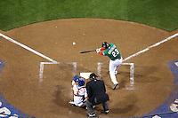 15 March 2009: #23 Adrian Gonzalez of Mexico hits the ball during the 2009 World Baseball Classic Pool 1 game 2 at Petco Park in San Diego, California, USA. Korea wins 8-2 over Mexico.