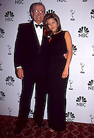 Jennifer Aniston & Dad John Aniston 1995 <br />