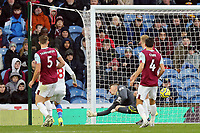 Burnley's Nick Pope is beaten at his near post for the opening goal by Crystal Palace's Wilfried Zaha's (not pictured) <br /> <br /> Photographer Rich Linley/CameraSport<br /> <br /> The Premier League - Burnley v Crystal Palace - Saturday 30th November 2019 - Turf Moor - Burnley<br /> <br /> World Copyright © 2019 CameraSport. All rights reserved. 43 Linden Ave. Countesthorpe. Leicester. England. LE8 5PG - Tel: +44 (0) 116 277 4147 - admin@camerasport.com - www.camerasport.com