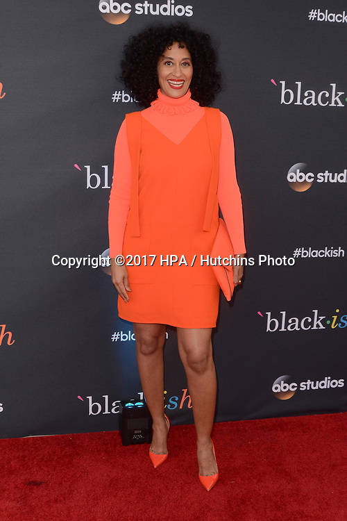 """LOS ANGELES - APR 12:  Tracee Ellis Ross at the """"Blackish"""" FYC Event at the Television Academy, on April 12, 2017 in North Hollywood, CA"""
