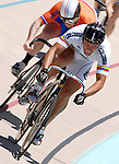 August 20, 2011:  Columbia's Ruben Murillo Minota during the Winslow BMW U.S. Grand Prix of Sprinting at the Velodrome at Memorial Park, Colorado Springs, CO... ...