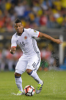 Chicago, IL - Wednesday June 22, 2016: Frank Fabra during a Copa America Centenario semifinal match between Colombia (COL) and Chile (CHI) at Soldier Field.