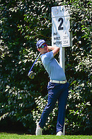 Brandon Stone (RSA) watches his tee shot on 2 during round 1 of the World Golf Championships, Mexico, Club De Golf Chapultepec, Mexico City, Mexico. 3/2/2017.<br /> Picture: Golffile | Ken Murray<br /> <br /> <br /> All photo usage must carry mandatory copyright credit (&copy; Golffile | Ken Murray)