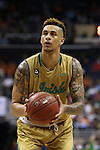 10 March 2016: Notre Dame's Zach Auguste. The University of Notre Dame Fighting Irish played the Duke University Blue Devils at the Verizon Center in Washington, DC in the Atlantic Coast Conference Men's Basketball Tournament quarterfinal and a 2015-16 NCAA Division I Men's Basketball game. Notre Dame won the game 84-79 in overtime.