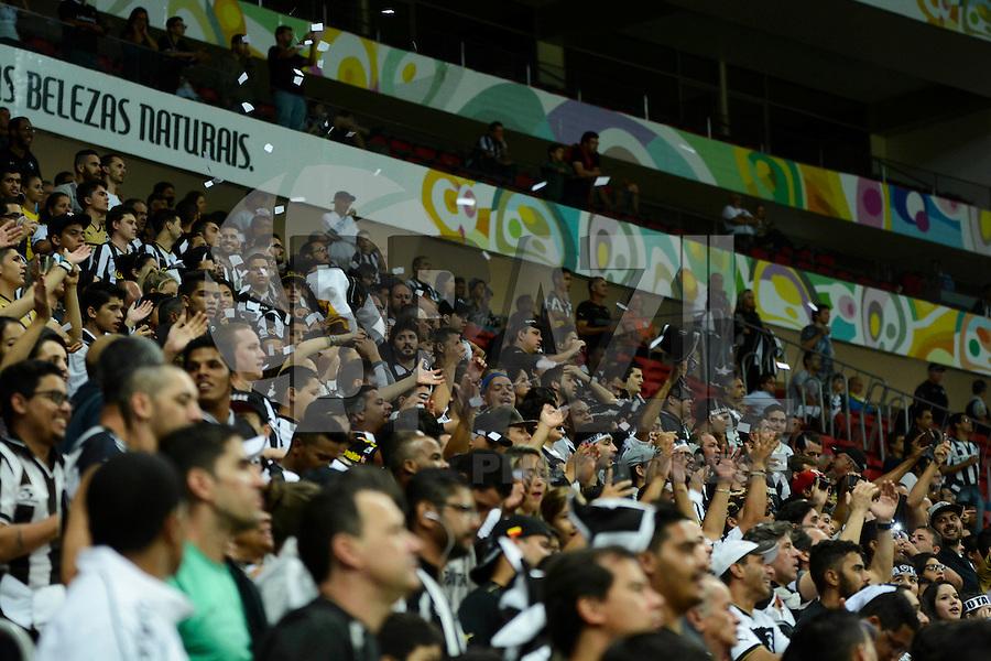 BRASÍLIA, DF, 20.11.2015 - ABC-BOTAFOGO - Botafogo durante comemoração do título de Campeão da série B do Campeonato Brasileiro, em jogo contra o ABC, no estádio Mané Garrincha em Brasília nesta sexta-feira, 20. (Foto: Ricardo Botelho/Brazil Photo Press)