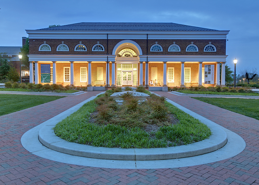 The University of Virginia Special Collections library on central grounds.