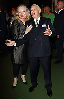 Susan Stroman and Mel Brooks at the Young Frankenstein Opening Night at the Garrick Theatre, Charing Cross Road, London on October 10th 2017<br /> CAP/ROS<br /> &copy; Steve Ross/Capital Pictures