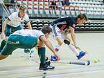 Almere - Zaalhockey  Amsterdam-Rotterdam (m)  . Tijn Lissone (Adam)    TopsportCentrum Almere.    COPYRIGHT KOEN SUYK
