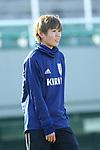 Shiori Miyake (JPN), JANUARY 16, 2018 -  Football / Soccer : <br /> Japan women's national team training camp <br /> in Tokyo, Japan. <br /> (Photo by Yohei Osada/AFLO)