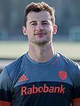 UTRECHT - Sander Baart, in away / uit shirt  speler Nederlands Hockey Team heren. COPYRIGHT KOEN SUYK
