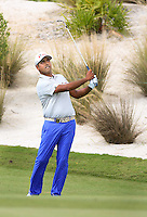 151201  Indian Anirban Lahiri during Tuesday's Practice Round of The Hero World Challenge at The Albany Golf Club, in Nassau,Bahamas.(photo credit : kenneth e. dennis/kendennisphoto.com)