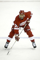 Chris Chelios Detroit Red Wiings. Photo F. Scott Grant