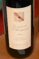 Domaine de l'Hortgrand Vin de Pays du Mont Baudile, Languedoc, France
