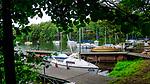 Wdzydze Kiszewskie, 2011-07-09. Port jachtowy nad Jeziorem Wdzydze