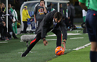 BOGOTA -COLOMBIA, 25-03-2017. Gustavo Costas coach of Santa Fe.Actions game between Santa Fe and Millonarios  during match for the date 2 of the Aguila League I 2017 played at Nemesio Camacho El Campin stadium . Photo:VizzorImage / Felipe Caicedo  / Staff