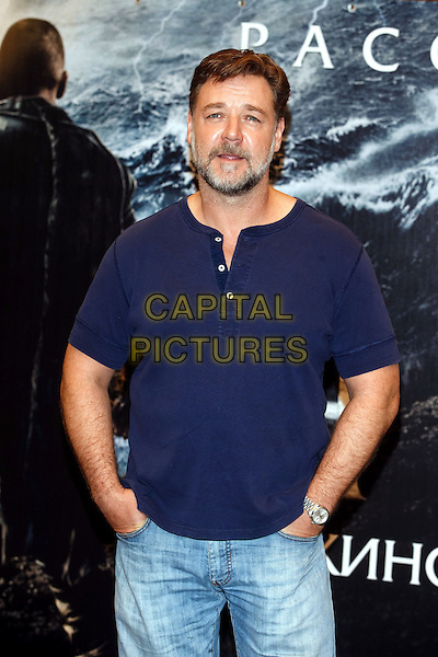 MOSCOW, RUSSIA - MARCH 17: Russell Crowe attends the 'Noah' photocall at Lotte Hotel on March 17, 2014 in Moscow, Russia.<br /> CAP/PER/SB<br /> &copy;SB/PersonaStars/CapitalPictures