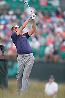 Ian Poulter (ENG) tees off on the 17th hole during the third round of the 118th U.S. Open Championship at Shinnecock Hills Golf Club in Southampton, NY, USA. 16th June 2018.<br /> Picture: Golffile | Brian Spurlock<br /> <br /> <br /> All photo usage must carry mandatory copyright credit (&copy; Golffile | Brian Spurlock)