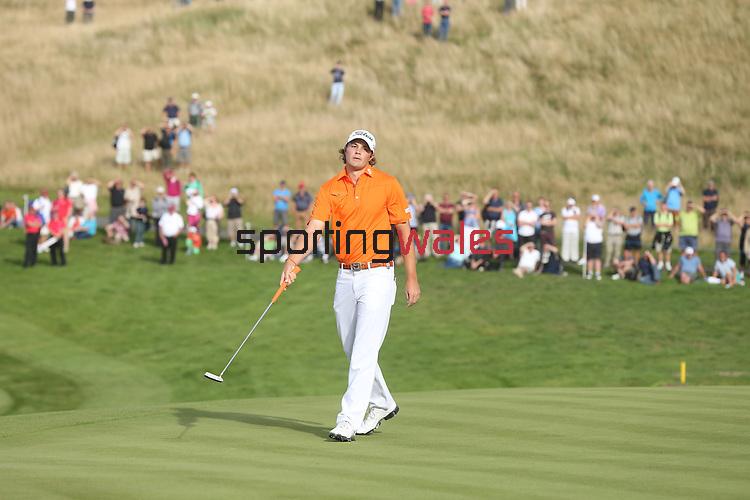 ISPS Handa Wales Open 2013<br /> Peter UIHLEIN<br /> 01.09.13<br /> <br /> &copy;Steve Pope-Sportingwales