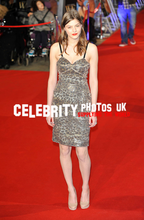 Amber Anderson  at 'W.E' UK premiere held at the Odeon Kensington - Arrivals London, England 11/1/12 Picture By: Brian Jordan / Retna Pictures..Job:..Ref: BJN  ..-..*World Rights*