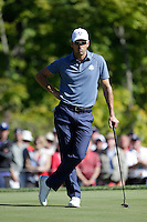 Raffa Cabrera-Bello (Team Europe) on the 5th green during the Friday afternoon Fourball at the Ryder Cup, Hazeltine national Golf Club, Chaska, Minnesota, USA.  30/09/2016<br /> Picture: Golffile | Fran Caffrey<br /> <br /> <br /> All photo usage must carry mandatory copyright credit (&copy; Golffile | Fran Caffrey)