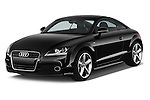 Front three quarter view of a 2011 - 2014 Audi TT S line 3 Door Coupe 4WD