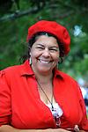 Cindy Johnston enjoys the 13th annual  St. Teresa of Avila Basque Festival Sunday Sept. 19, 2010 at Fuji Park in Carson City, Nev..Photo by Lisa J. Tolda/Lisajphotos@gmail.com