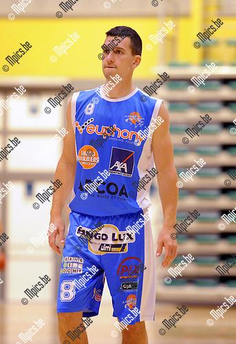 2013-09-10 / Basketbal / seizoen 2013-2014 / Kangoeroes Willebroek / Witse Van Schil<br /><br />Foto: Mpics.be