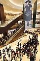Opening ceremony for Tokyo Midtown Hibiya shopping mall