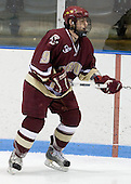 Nate Gerbe (BC 9) - The Boston College Eagles and Providence Friars played to a 2-2 tie on Saturday, March 1, 2008 at Schneider Arena in Providence, Rhode Island.