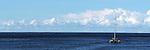 Catameran on water. Photo of Catameran returning to Coffs Harbour