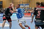 07.11.2019, Klingenhalle, Solingen,  GER, 1. HBL. Herren, Bergischer HC vs. HC Erlangen, <br /> <br /> im Bild / picture shows: <br /> Linus Arnesson (BHC #24), mit einem Torwurf <br /> <br /> <br /> Foto © nordphoto / Meuter