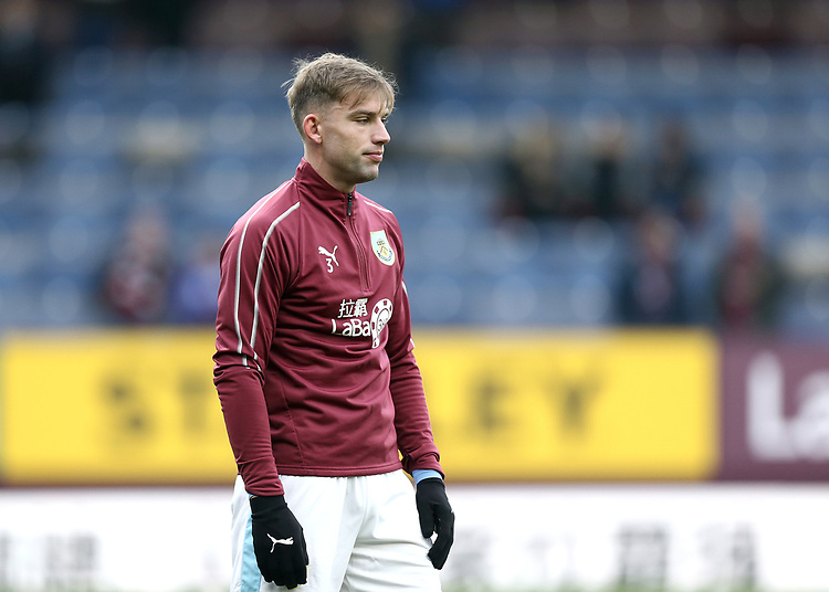 Burnley's Charlie Taylor during the pre-match warm-up <br /> <br /> Photographer Rich Linley/CameraSport<br /> <br /> The Premier League - Burnley v Everton - Wednesday 26th December 2018 - Turf Moor - Burnley<br /> <br /> World Copyright © 2018 CameraSport. All rights reserved. 43 Linden Ave. Countesthorpe. Leicester. England. LE8 5PG - Tel: +44 (0) 116 277 4147 - admin@camerasport.com - www.camerasport.com