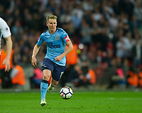 Newcastle's Matt Ritchie during the EPL - Premier League match between Tottenham Hotspur and Newcastle United at Wembley Stadium, London, England on 9 May 2018. Photo by Andrew Aleksiejczuk / PRiME Media Images.