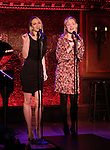 Padgett & Davie preview '54 Below sings Side Show'
